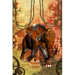 Steampunk, Steampunk Elephant With Clocks And Gears 5 5  X 8 5  Notebooks by FantasyWorld7
