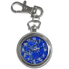 Wet Plastic, Blue Key Chain Watches by MoreColorsinLife