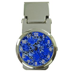 Wet Plastic, Blue Money Clip Watches by MoreColorsinLife