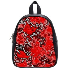 Wet Plastic, Red School Bag (small) by MoreColorsinLife