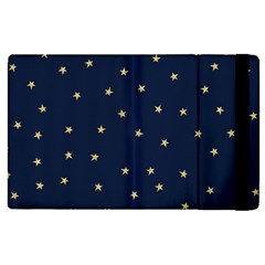 Navy/gold Stars Apple Ipad Pro 12 9   Flip Case