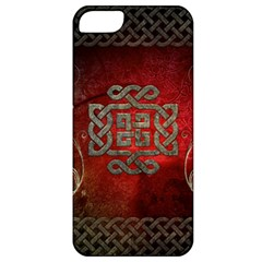 The Celtic Knot With Floral Elements Apple Iphone 5 Classic Hardshell Case by FantasyWorld7