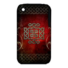 The Celtic Knot With Floral Elements Iphone 3s/3gs by FantasyWorld7