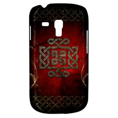 The Celtic Knot With Floral Elements Galaxy S3 Mini by FantasyWorld7