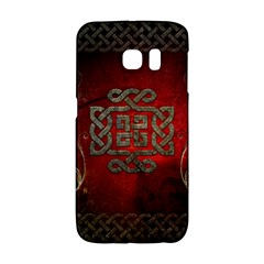 The Celtic Knot With Floral Elements Galaxy S6 Edge by FantasyWorld7