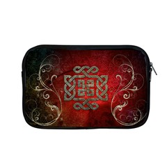 The Celtic Knot With Floral Elements Apple Macbook Pro 13  Zipper Case by FantasyWorld7
