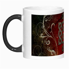 The Celtic Knot With Floral Elements Morph Mugs by FantasyWorld7