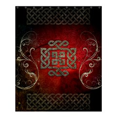 The Celtic Knot With Floral Elements Shower Curtain 60  X 72  (medium)  by FantasyWorld7
