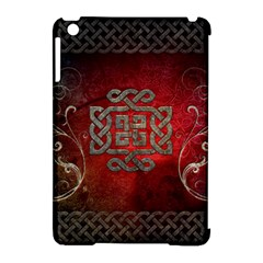 The Celtic Knot With Floral Elements Apple Ipad Mini Hardshell Case (compatible With Smart Cover) by FantasyWorld7