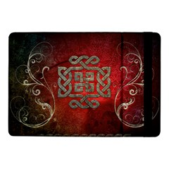 The Celtic Knot With Floral Elements Samsung Galaxy Tab Pro 10 1  Flip Case by FantasyWorld7