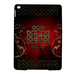 The Celtic Knot With Floral Elements Ipad Air 2 Hardshell Cases by FantasyWorld7