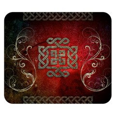 The Celtic Knot With Floral Elements Double Sided Flano Blanket (small)  by FantasyWorld7