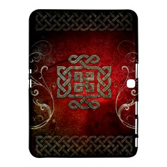 The Celtic Knot With Floral Elements Samsung Galaxy Tab 4 (10 1 ) Hardshell Case  by FantasyWorld7