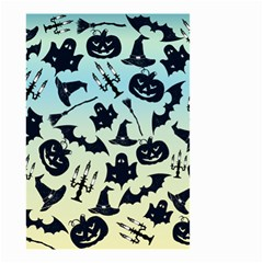 Spooky Halloween Small Garden Flag (two Sides) by allgirls