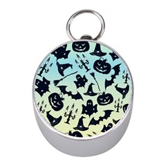 Spooky Halloween Mini Silver Compasses by allgirls