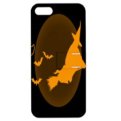 Day Hallowiin Ghost Bat Cobwebs Full Moon Spider Apple Iphone 5 Hardshell Case With Stand by Mariart