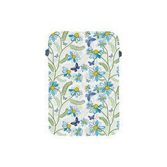Flower Blue Butterfly Leaf Green Apple Ipad Mini Protective Soft Cases by Mariart