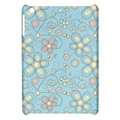 Flower Blue Butterfly Bird Yellow Floral Sexy Apple Ipad Mini Hardshell Case by Mariart