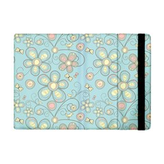 Flower Blue Butterfly Bird Yellow Floral Sexy Ipad Mini 2 Flip Cases by Mariart