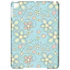 Flower Blue Butterfly Bird Yellow Floral Sexy Apple Ipad Pro 9 7   Hardshell Case by Mariart