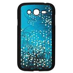 Flower Back Leaf River Blue Star Samsung Galaxy Grand Duos I9082 Case (black) by Mariart