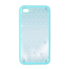 Flower Blue Polka Plaid Sexy Star Love Heart Apple Iphone 4 Case (color) by Mariart