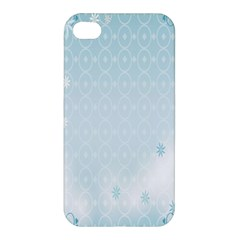 Flower Blue Polka Plaid Sexy Star Love Heart Apple Iphone 4/4s Hardshell Case by Mariart