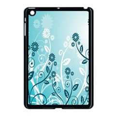 Flower Blue River Star Sunflower Apple Ipad Mini Case (black) by Mariart