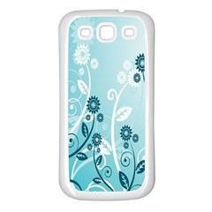 Flower Blue River Star Sunflower Samsung Galaxy S3 Back Case (white) by Mariart