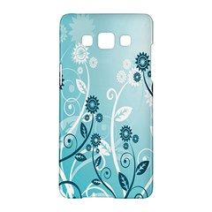 Flower Blue River Star Sunflower Samsung Galaxy A5 Hardshell Case  by Mariart