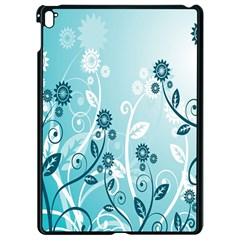 Flower Blue River Star Sunflower Apple Ipad Pro 9 7   Black Seamless Case by Mariart