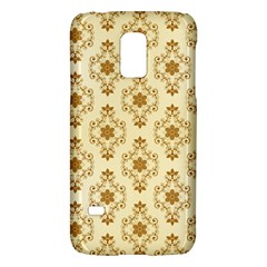 Flower Brown Star Rose Galaxy S5 Mini by Mariart