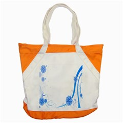 Flower Blue Sunflower Star Sexy Accent Tote Bag by Mariart
