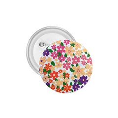 Flower Floral Rainbow Rose 1 75  Buttons by Mariart