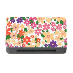 Flower Floral Rainbow Rose Memory Card Reader With Cf by Mariart