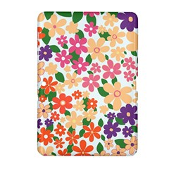 Flower Floral Rainbow Rose Samsung Galaxy Tab 2 (10 1 ) P5100 Hardshell Case  by Mariart