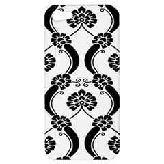 Flower Floral Black Sexy Star Black Apple Iphone 5 Hardshell Case by Mariart