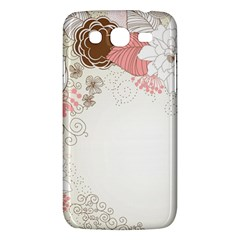 Flower Floral Rose Sunflower Star Sexy Pink Samsung Galaxy Mega 5 8 I9152 Hardshell Case  by Mariart
