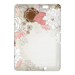 Flower Floral Rose Sunflower Star Sexy Pink Kindle Fire Hdx 8 9  Hardshell Case by Mariart