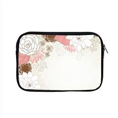 Flower Floral Rose Sunflower Star Sexy Pink Apple Macbook Pro 15  Zipper Case by Mariart