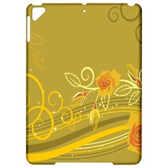 Flower Floral Yellow Sunflower Star Leaf Line Gold Apple Ipad Pro 9 7   Hardshell Case by Mariart