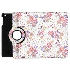 Flower Floral Sunflower Rose Purple Red Star Apple Ipad Mini Flip 360 Case by Mariart