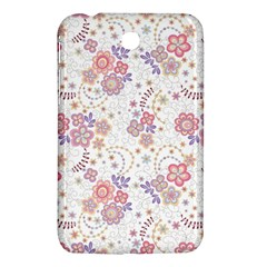 Flower Floral Sunflower Rose Purple Red Star Samsung Galaxy Tab 3 (7 ) P3200 Hardshell Case  by Mariart