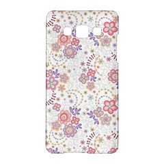 Flower Floral Sunflower Rose Purple Red Star Samsung Galaxy A5 Hardshell Case  by Mariart