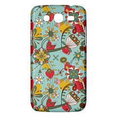 Flower Fruit Star Polka Rainbow Rose Samsung Galaxy Mega 5 8 I9152 Hardshell Case  by Mariart