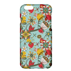 Flower Fruit Star Polka Rainbow Rose Apple Iphone 6 Plus/6s Plus Hardshell Case by Mariart