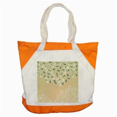 Flower Frame Green Sexy Accent Tote Bag by Mariart