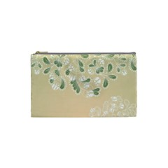 Flower Frame Green Sexy Cosmetic Bag (small)  by Mariart