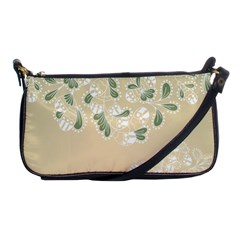 Flower Frame Green Sexy Shoulder Clutch Bags by Mariart