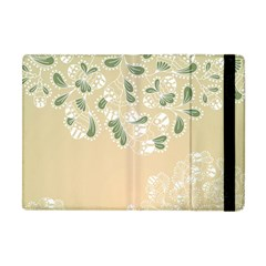 Flower Frame Green Sexy Apple Ipad Mini Flip Case by Mariart